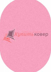 COMFORT SHAGGY S600 PINK OVAL