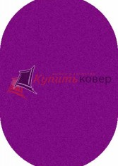 COMFORT SHAGGY S600 PURPLE OVAL
