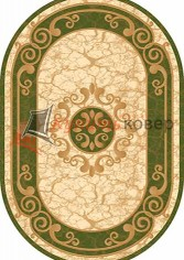 KAMEA CARVING D045 GREEN oval