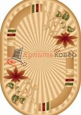 KAMEA CARVING D049 BEIGE oval