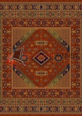 овер Floare Carpet ANTIQUE 436 DARIUS 60311 квадрат