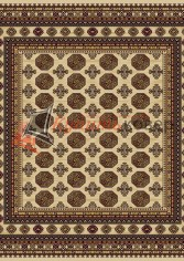 овер Floare Carpet ANTIQUE 471 SAFIR 1126 квадрат