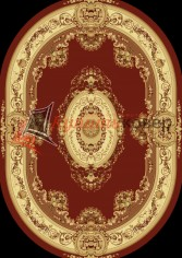 Ковер Floare Carpet EUROPEAN 210 Bushe 3658 oval