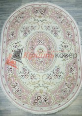 Ковер LARA 25208 cream pink oval