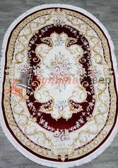 овер Lara Premium 35011B OVAL RED / CREAM