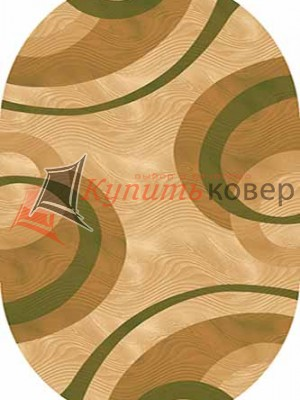 KAMEA CARVING 4783 BEIGE-GREEN oval