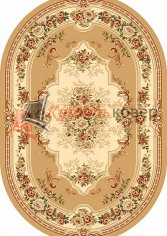 VALENCIA DELUXE 4015 BEIGE OVAL
