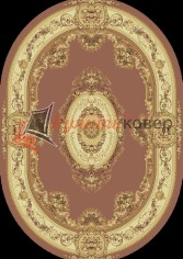овер Floare Carpet EUROPEAN 210 Bushe 3281 oval
